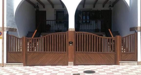 Gabiametal - Cancelas de madera ...